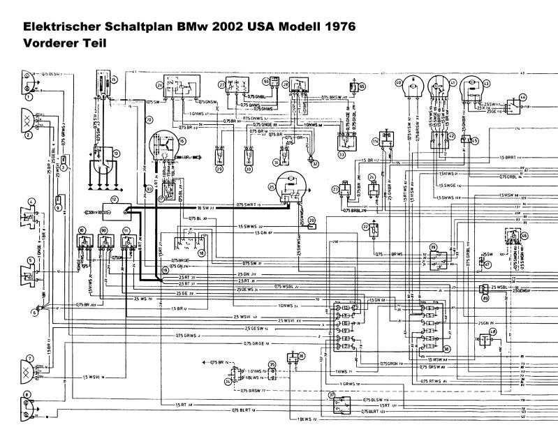 1975 Bmw 2002 Wiring Diagram, 1976 Bmw 2002 Wiring Diagram