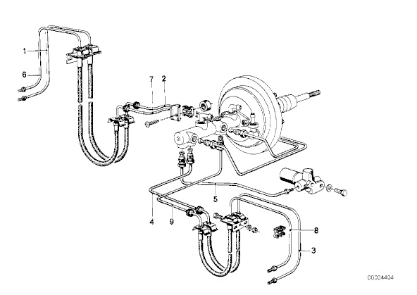 tii Brake Line Arrangement - BMW 2002 and other '02 - BMW 2002 FAQBMW 2002 FAQ