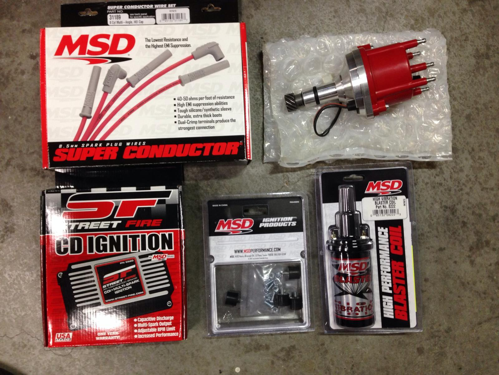 Complete Msd Ignition Install - BMW 2002 and other '02 - BMW