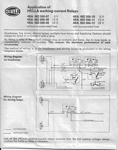 [ANLQ_8698]  Hella Fog Light Relay/Wiring Diagram for Fog lights - BMW 2002 and other  '02 - BMW 2002 FAQ | 12 Volt Fog Lamp Wiring Diagram |  | BMW 2002 FAQ