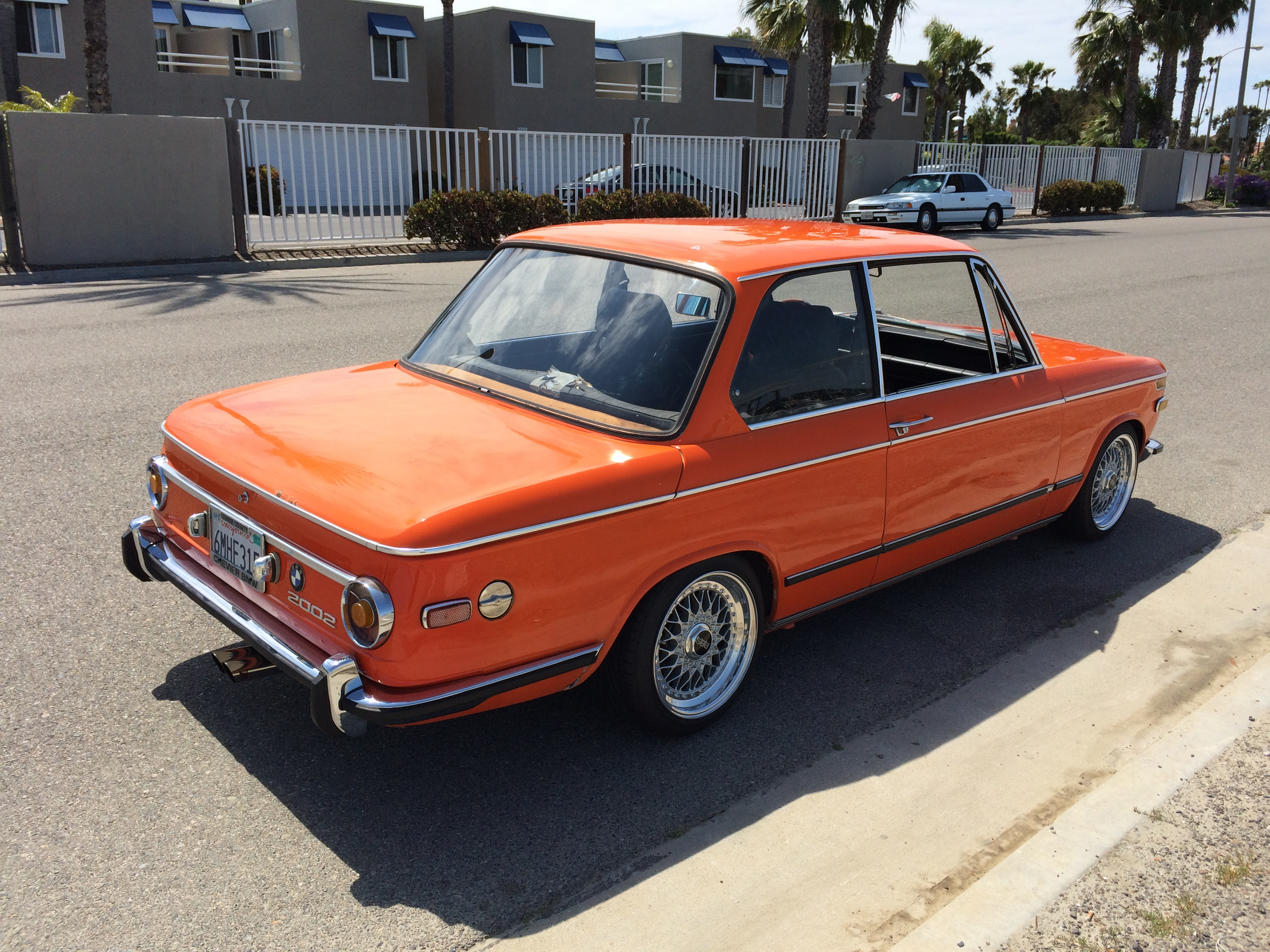 1972 Inka Orange Roundie Built M10 Side Drafts 5spd Bbs Rs 3 91 Lsd Bmw 2002 And Neue Klasse Cars For Sale Wanted Bmw 2002 Faq