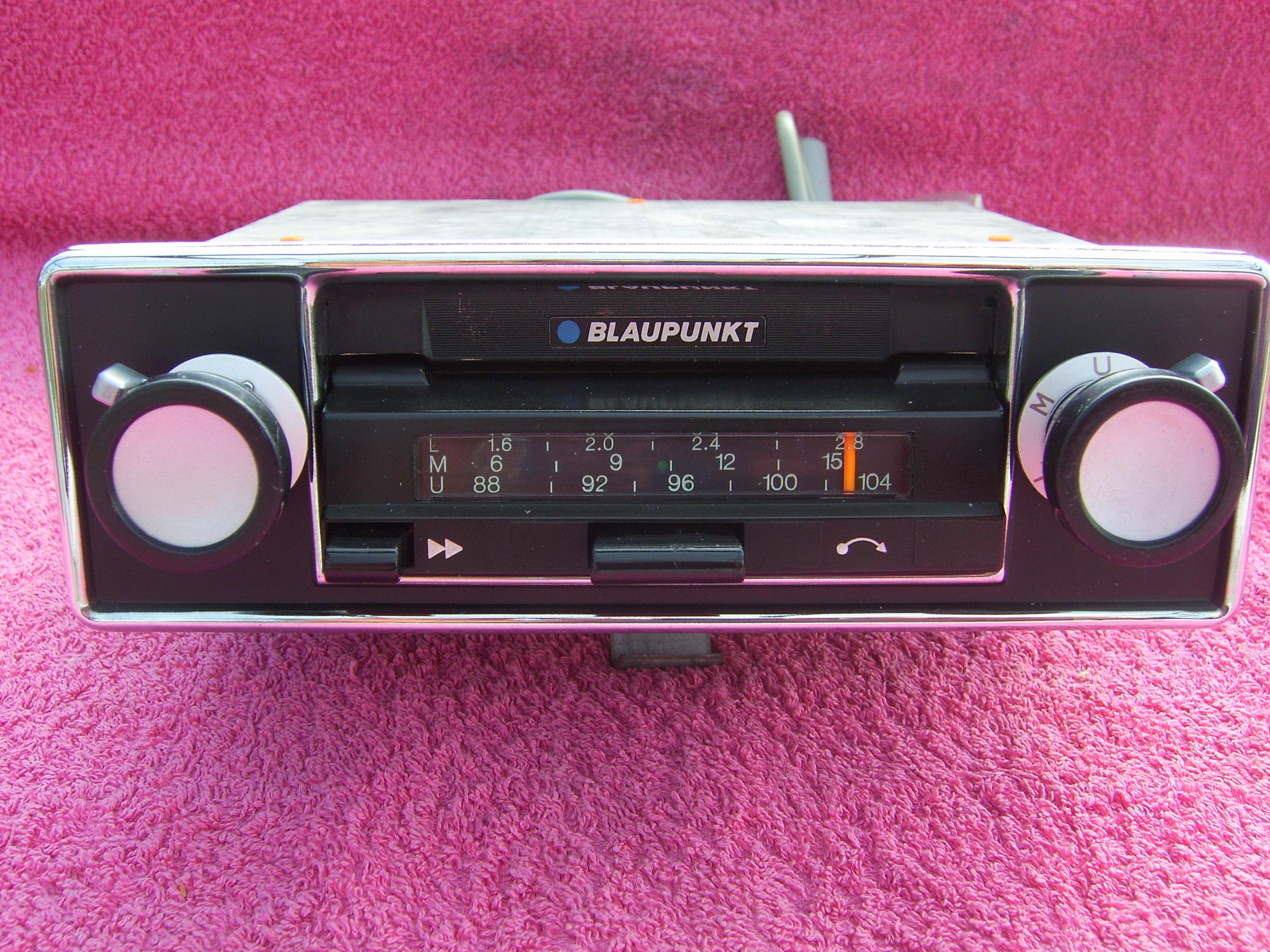 FS: 1973/74 Blaupunkt radio/cassette - Parts For Sale - BMW