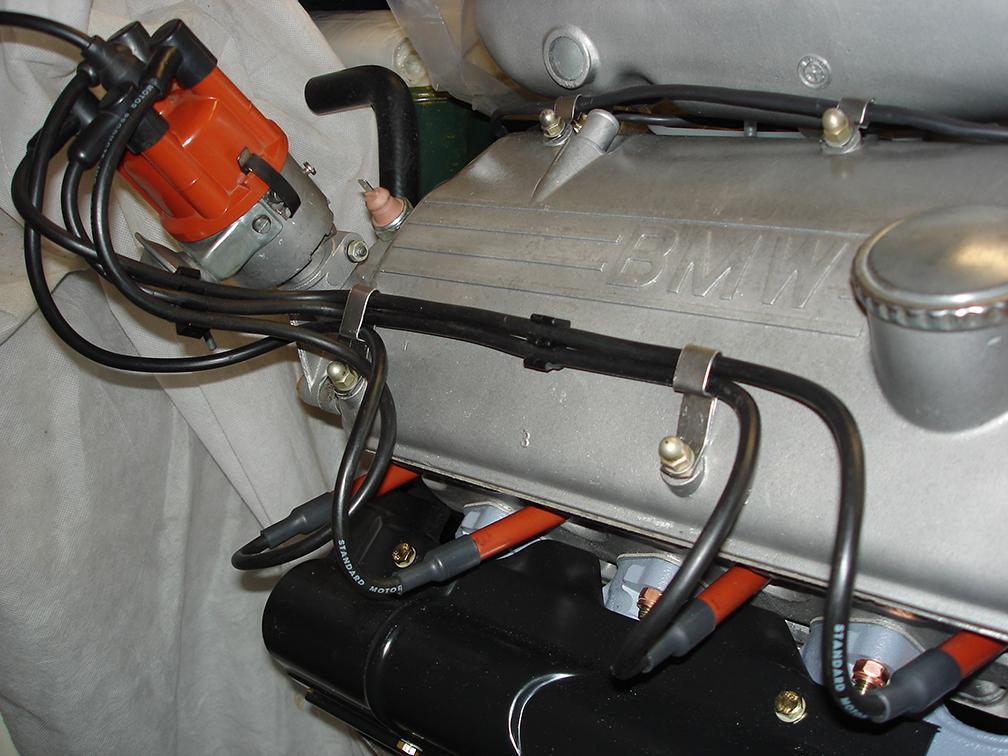 bmw 2002 wiring harness spark plug wires clips holders bmw 2002 and other  02 bmw 2002 faq  spark plug wires clips holders bmw