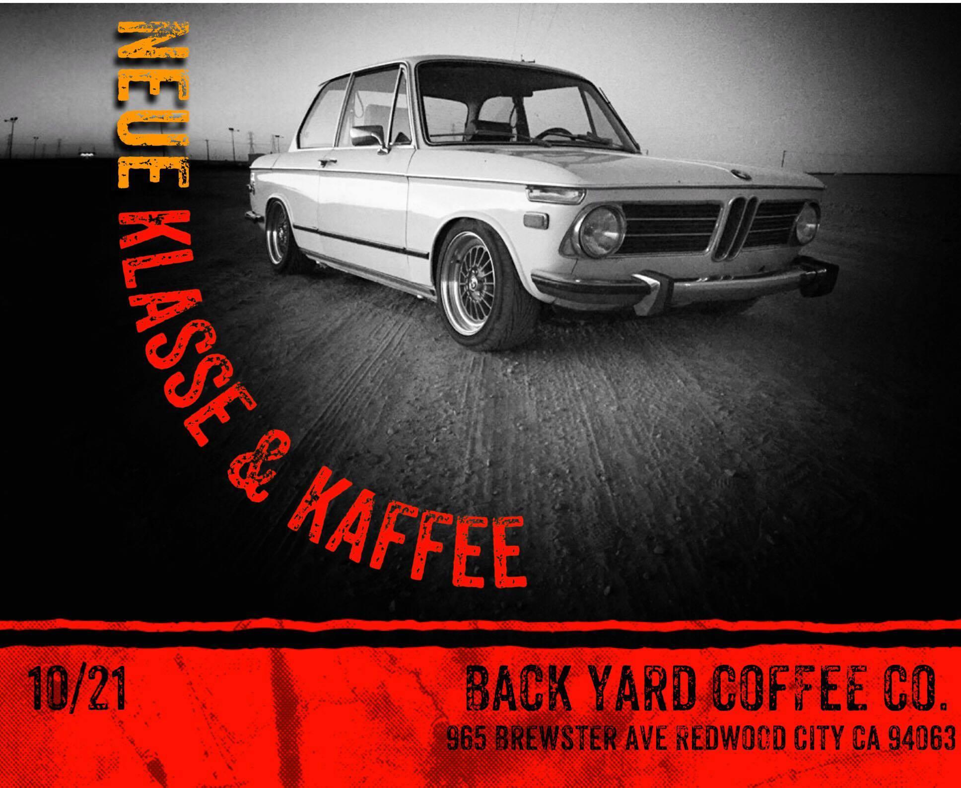 SF Bay Area Neue Klasse and Kaffee - Redwood City - 10/21 ...