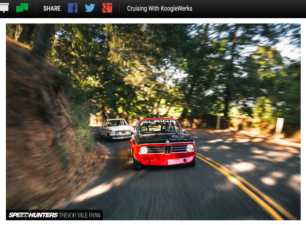 KoogleWerks shop tour on SpeedHunters!