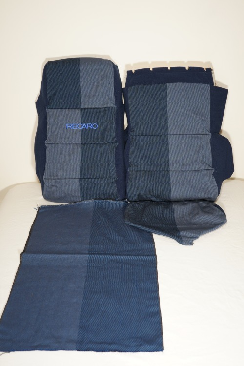 Bmw 2002 For Sale >> Vintage E21 Recaro Seat Fabric & Upholstery NOS - Parts For Sale - BMW 2002 FAQ