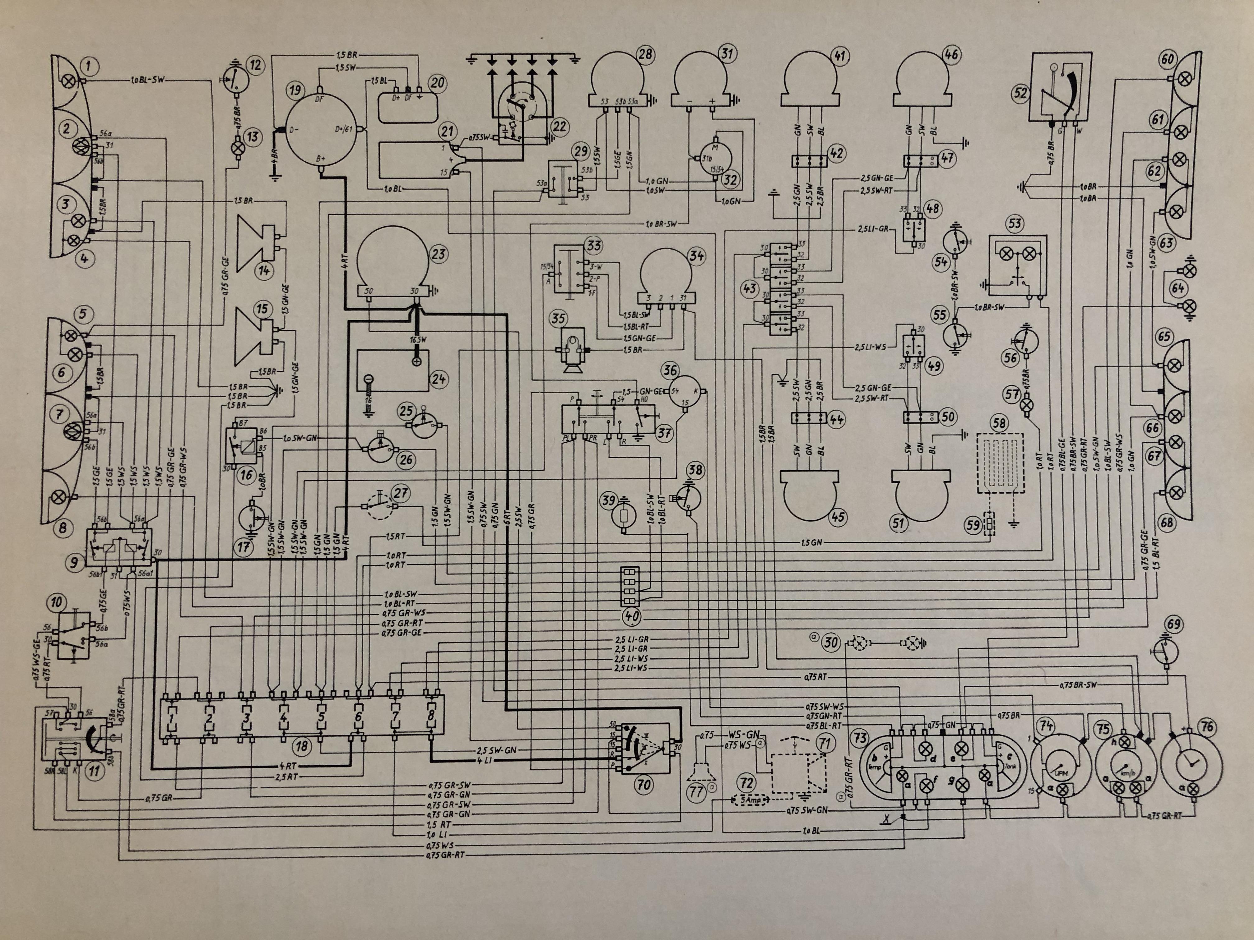 2000 cs with hazard switch wiring diagram - bmw neue klasse discussion - bmw  2002 faq  bmw 2002 faq