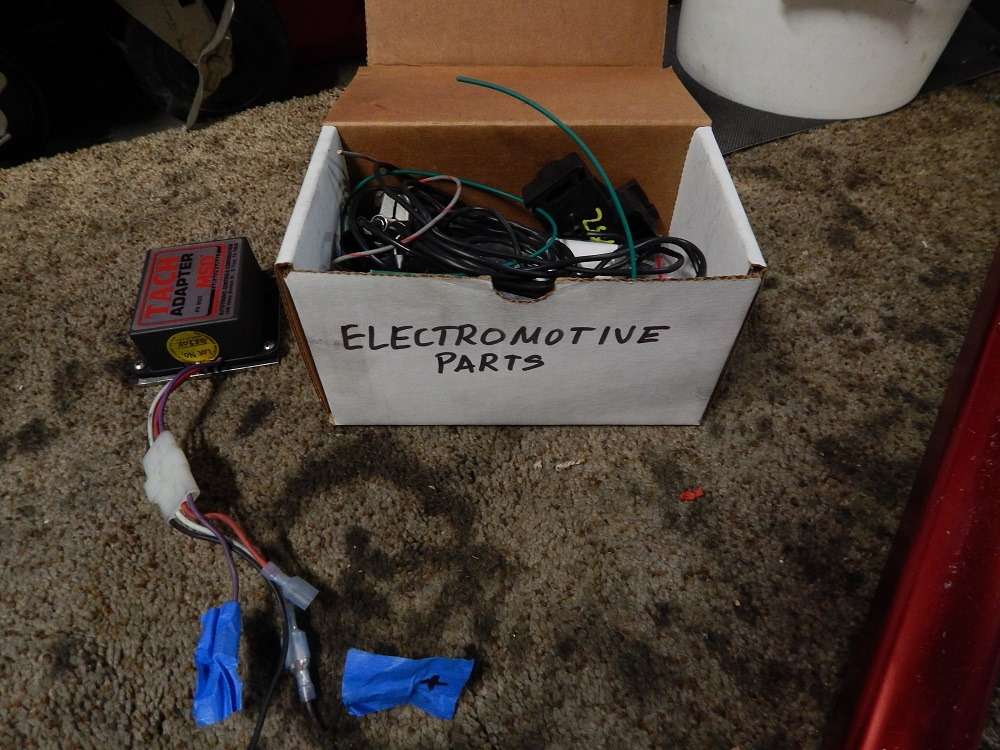 Electromotive XDi Distributorless Ignition system - Parts