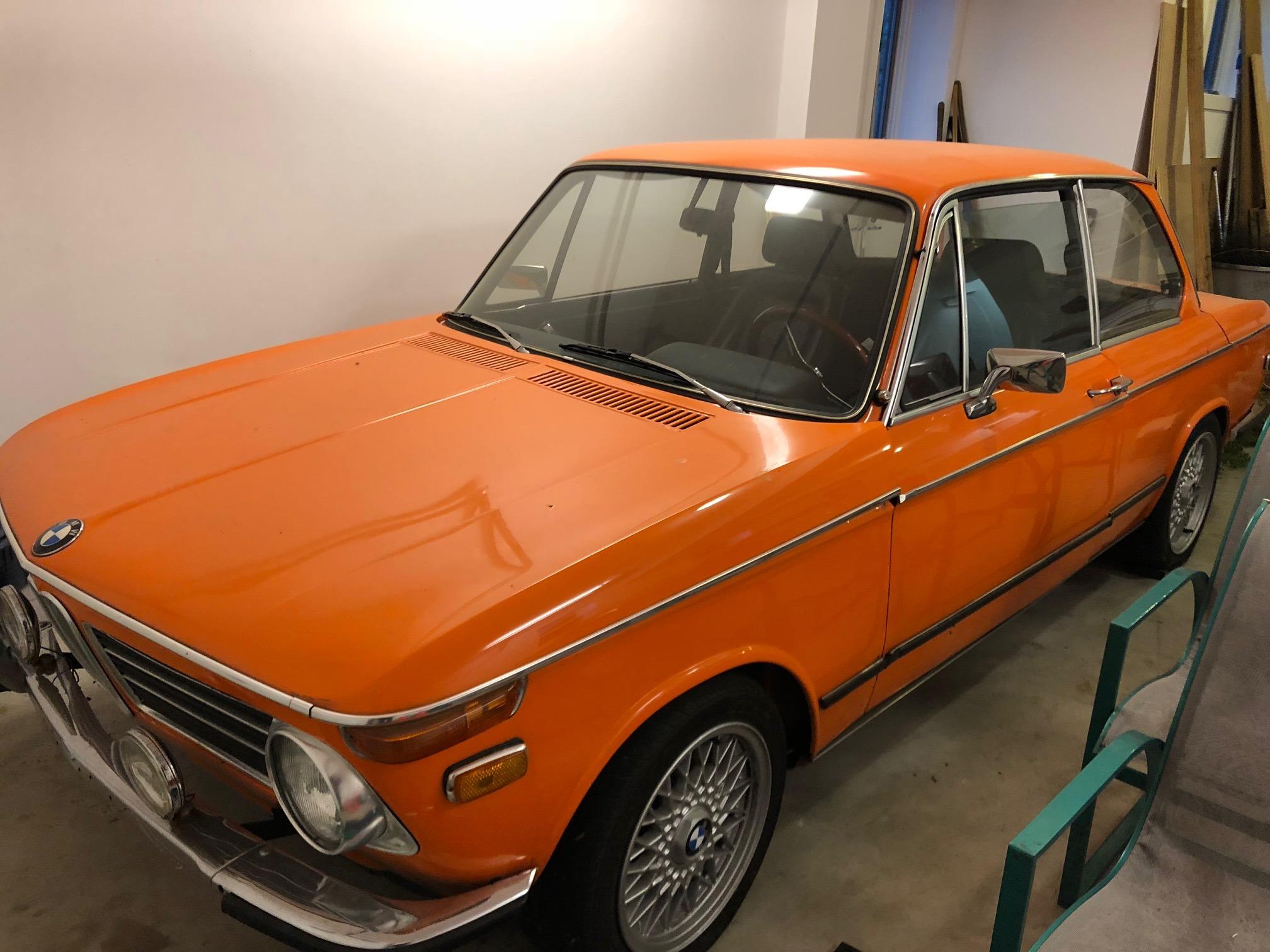 1973 Bmw 2002tii Inka Orange Bmw 2002 And Neue Klasse Cars For Sale Wanted Bmw 2002 Faq